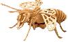 Поделки из дерева пчела 26