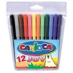 Фломастеры CARIOCA JOY (12цв) (40531)