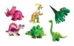 """Набор животных """" Мультяшки Динозаврики """"."""