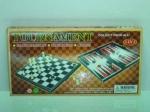 Шахматы, шашки и нарды 3в1