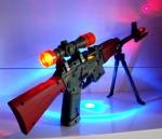 Автомат с лазерным прицелом и подсветкой