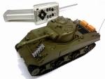 """ТАНК """"M4A3 SHERMAN"""" три канала радиоуправления"""