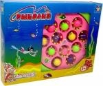Игра рыбалка, на бат. 3 вида (осьминоги, рыбки, раки), 26х20см в кор.