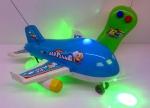 Светящийся самолетик на радиоуправлении