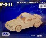 """Сборная деревянная модель """"Авто Porsche"""""""