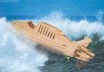 """Сборная деревянная модель """"Скоростной катер"""""""