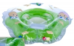 Развивающие круги на шею для купания детей, с ручками и погремушкой (INTIME)