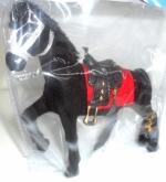 Игрушка пластиковая Лошадь с уздечкой, седлом