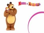 """Игрушка резиновая """"Маша и медведь"""""""