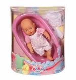 Кукла My little BABY born® в ванночке.