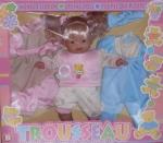 Кукла с платьем 38 см плачет и говорит.