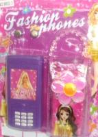 Мобильный телефон с чехлом.