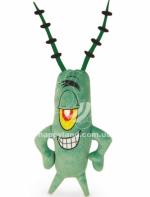 ИГРУШКИ (необычные) Мягкая игрушка Планктон 19 см Play-by-Play