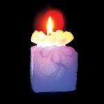 Свеча LED Подарок